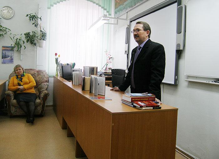 Урок мужества в 30-м лицее Ижевска