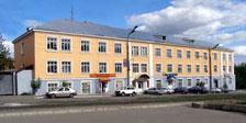 Внешний вид здания Ижевской Республиканской Типографии, ул. Пастухова, 13